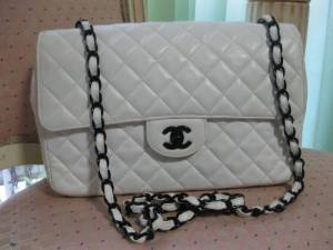 RARE Matorasse Chanel Shoulder Bag in White!