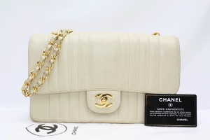 Off white Chanel classic